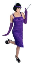 Roaring 20's Girl - Purple (2751)
